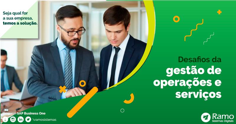 gestão de operações e serviços