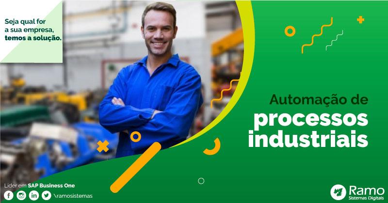 automação de processos industriais